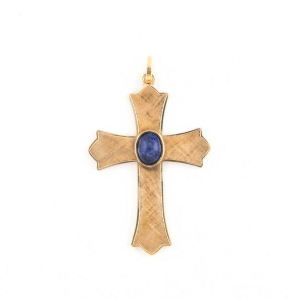 gammarelli-insegna-vescovile-croce-argento-laspislazzulo
