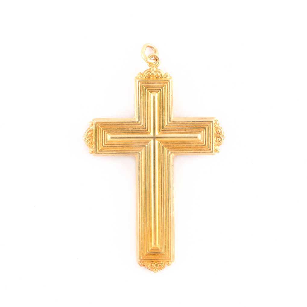gammarelli-insegna-vescovile-croce-modello-bisleti-argento-dorato