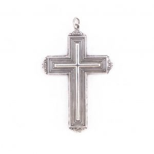 gammarelli-insegna-vescovile-croce-modello-bisleti-argento