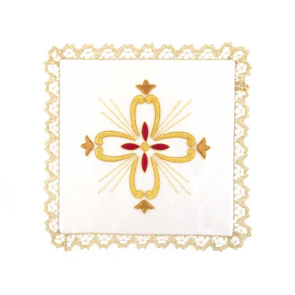 gammarelli-tailoring-clergy-apparel-garments-altar-pall-linen-mary-embroidery-ray-cross