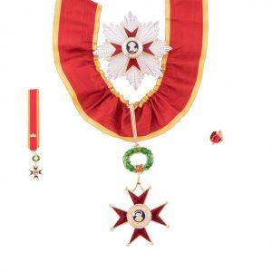 gammarelli-decorazione-commendatore-ordine-san-gregorio-magno-placca-miniatura-rosetta