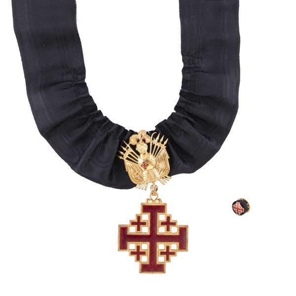 gammarelli-sartoria-decorazione-commendatore-ordine-santo-sepolcro-rosetta-miniatura