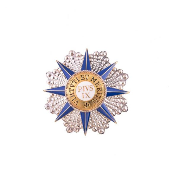 gammarelli-clergy-apparel-tailoring-decoration-star-knight-grand-cross-pius-order