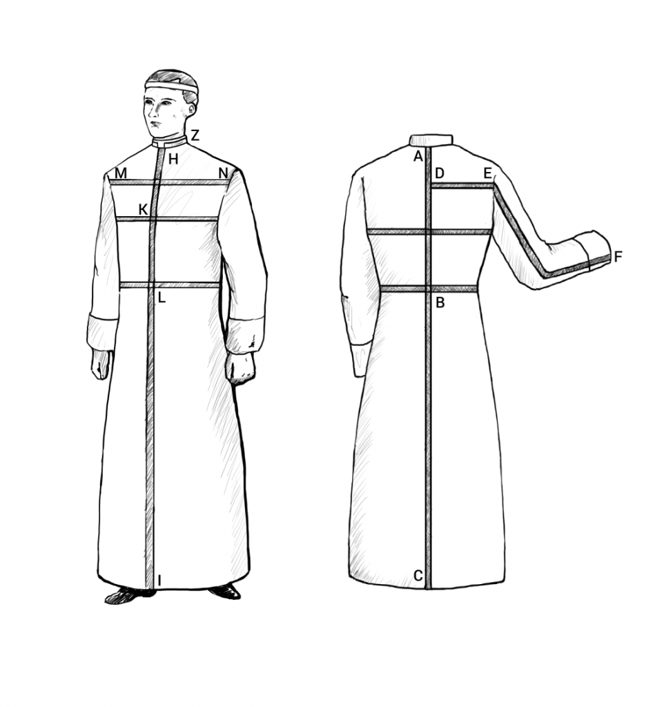 gammarelli-sartoria-ecclesiastica-abbigliamento-su-misura-metodo-misurazione