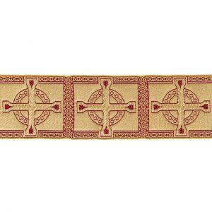 gammarelli-sartoria-ecclesiastici-gallone-pedino-modello-disegno-croce-celtica