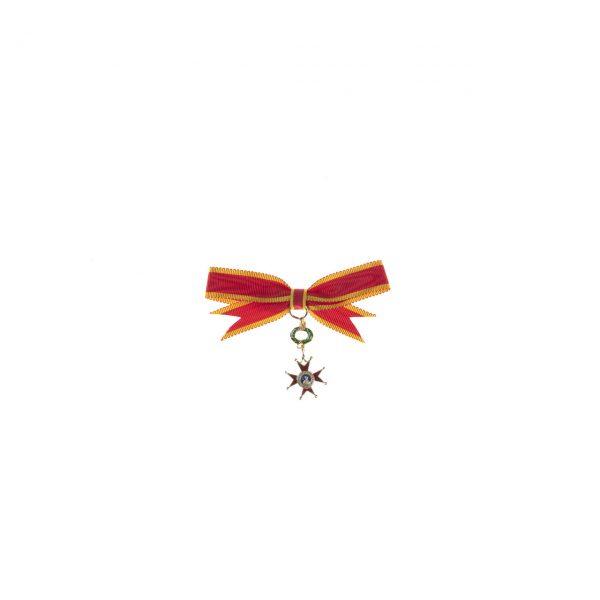 gammarelli-decorazione-cavaliere-dama-san-gregorio-magno-miniatura
