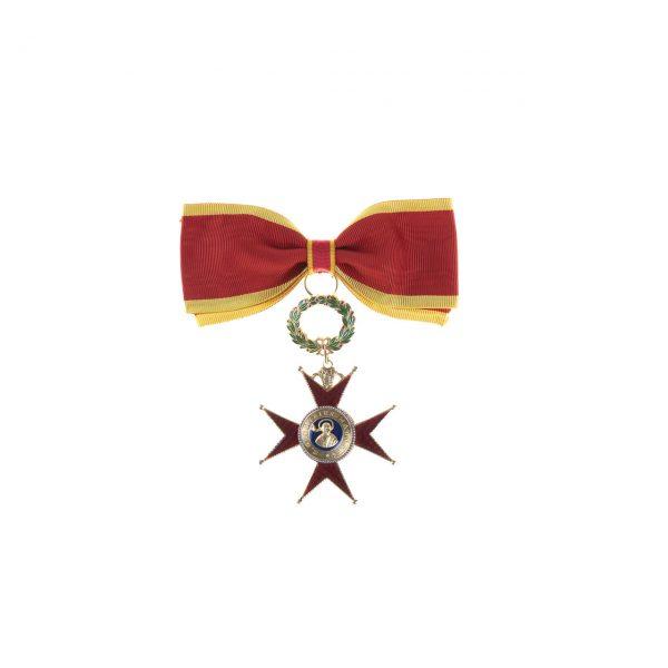 gammarelli-decorazione-commendatore-dama-ordine-san-gregorio-magno