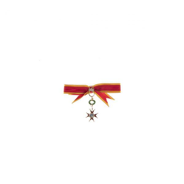 gammarelli-decorazione-commendatore-dama-ordine-san-gregorio-magno-miniatura