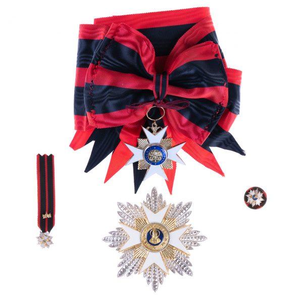 gammarelli-decorazione-cavaliere-gran-croce-san-silvestro-papa-placca