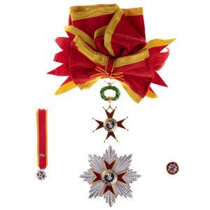 gammarelli-sartoria-decorazione-cavaliere-gran-croce-ordine-san-gregorio-magno